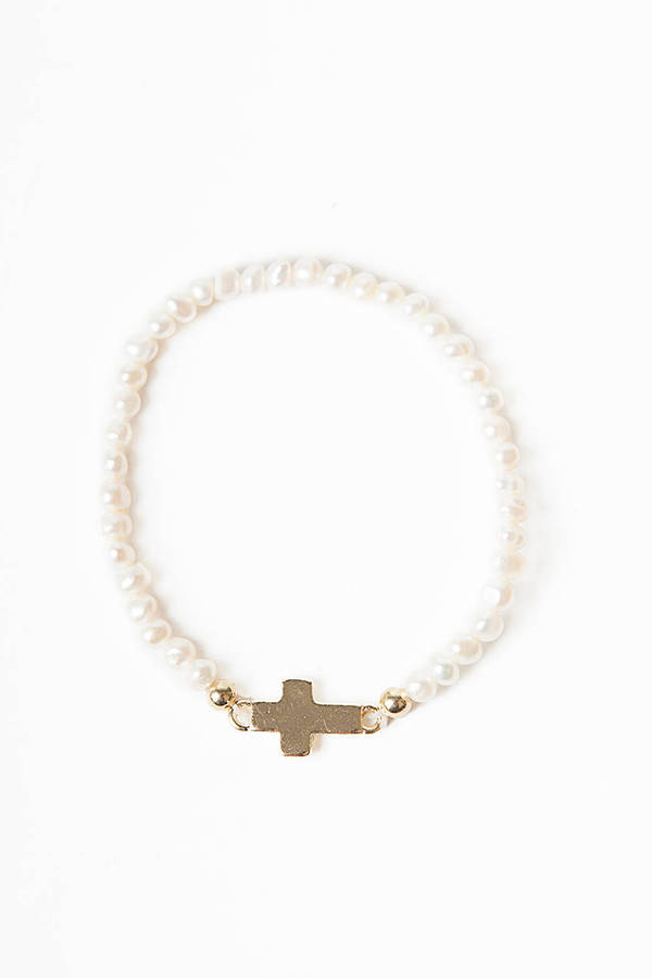 Dots and Cross Bracelet