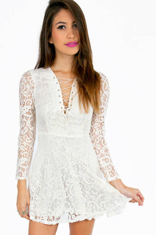 Lace It Up Dress