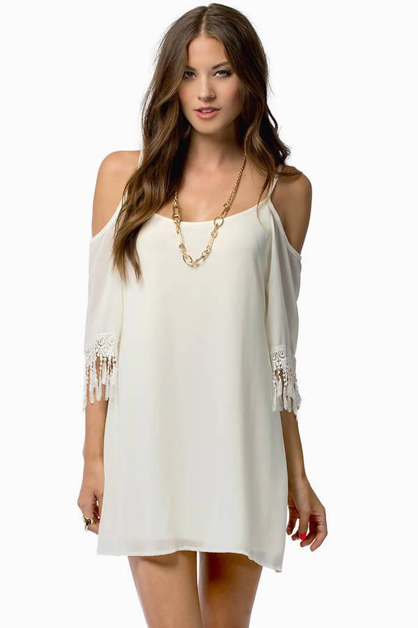 My My Open Shoulder Dress