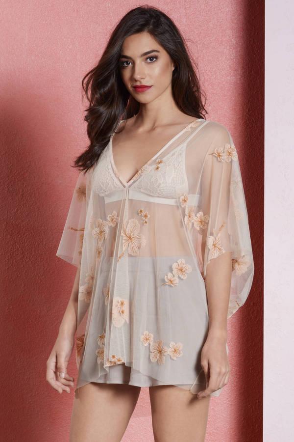 Cream Blouse - White Blouse - Tunic Blouse - Cream Top - S  28  5667809aa