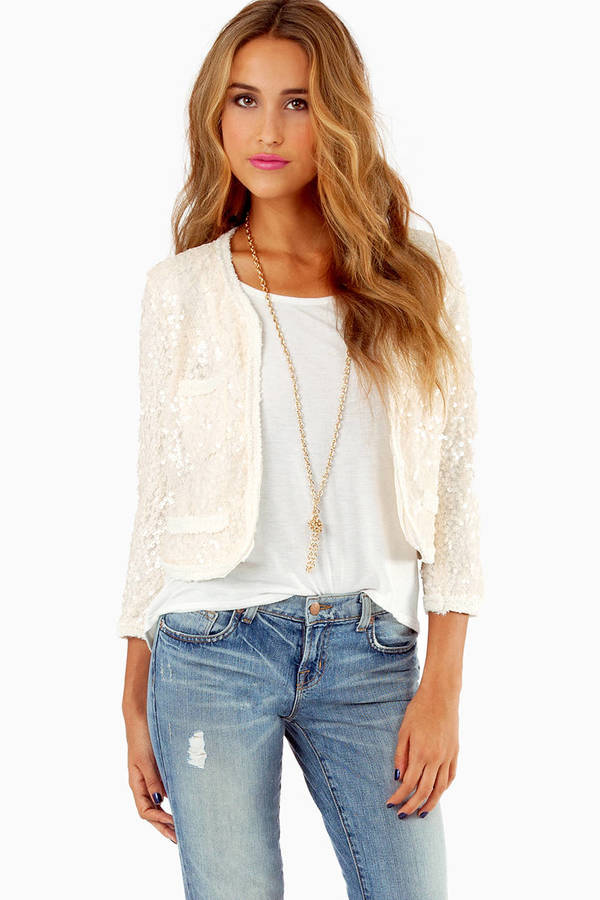 See My Sequins Cardigan