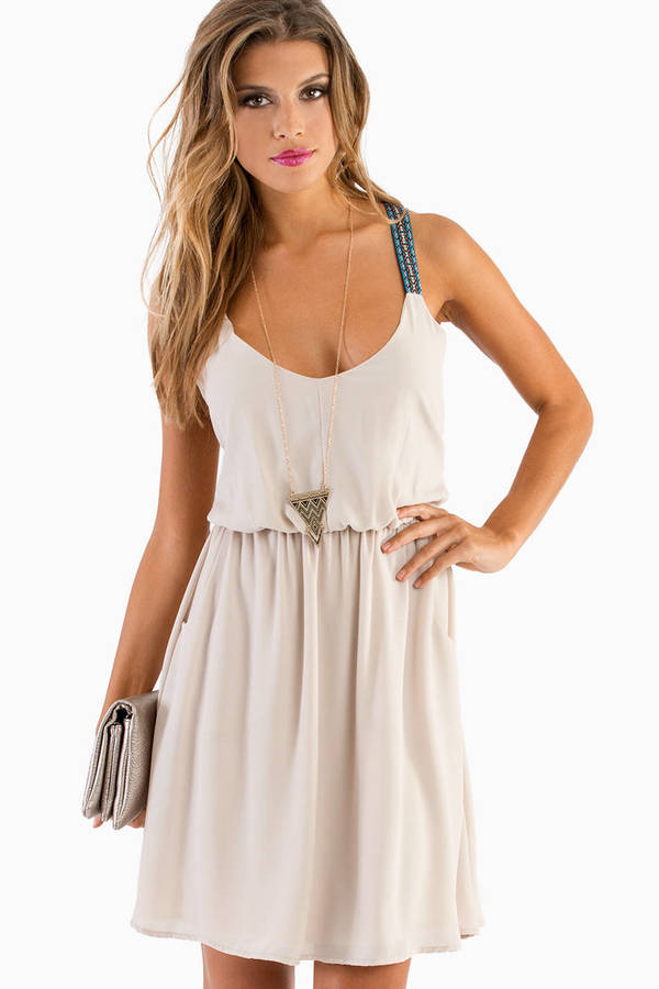 Tribal Straps Dress