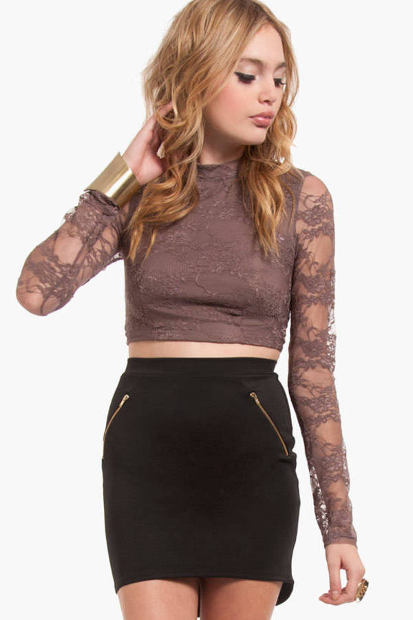 Crop Of Lace Top