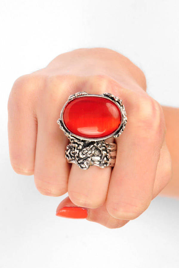 Ana Accessories Stone Cold Silver Ring