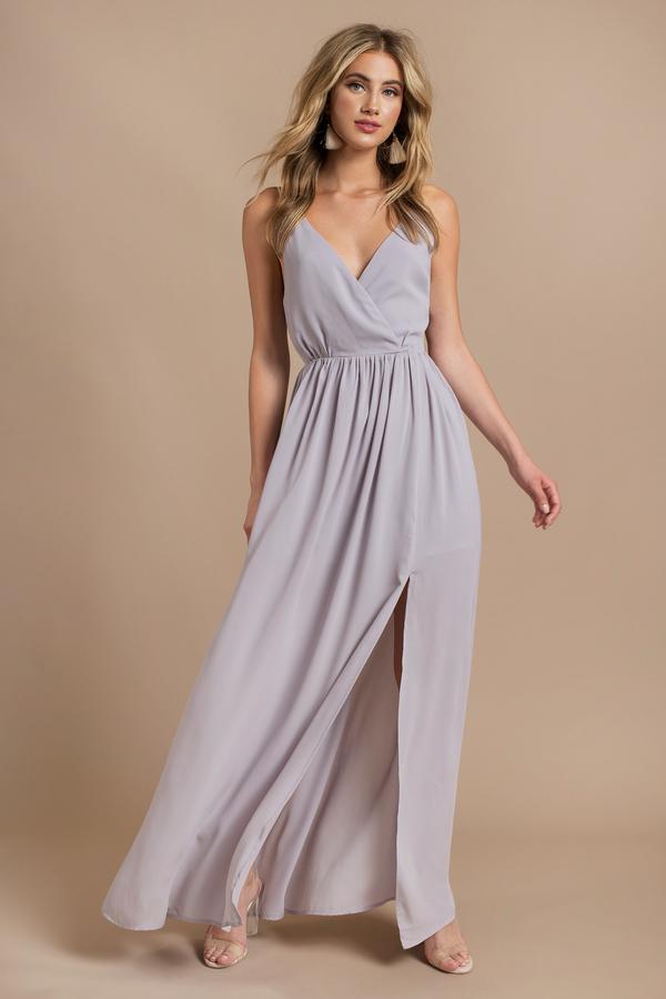 Purple Dresses Dress