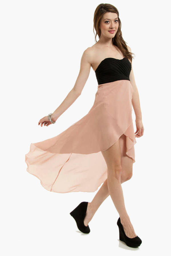On Air Hi-Low Dress
