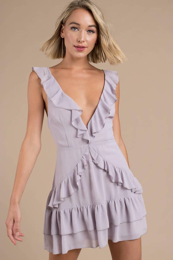 Purple Dresses   Lilac Dress, Purple Prom Dresses, Mauve Dress   Tobi