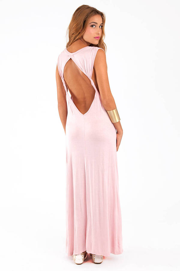 All Twisted Maxi Dress
