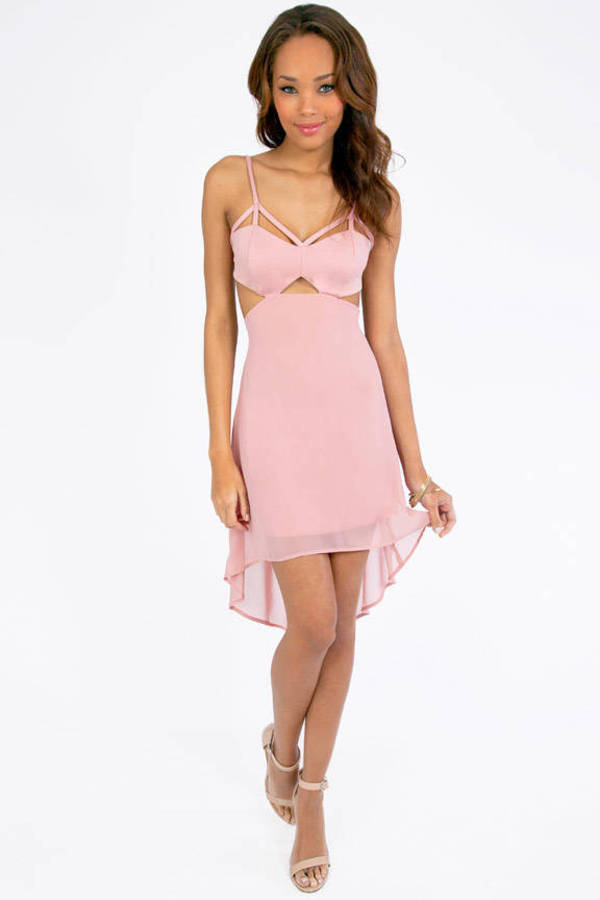 Cutesy Cut Dress