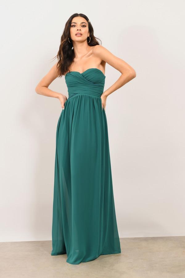 Emerald Green Long Sleeve Dress