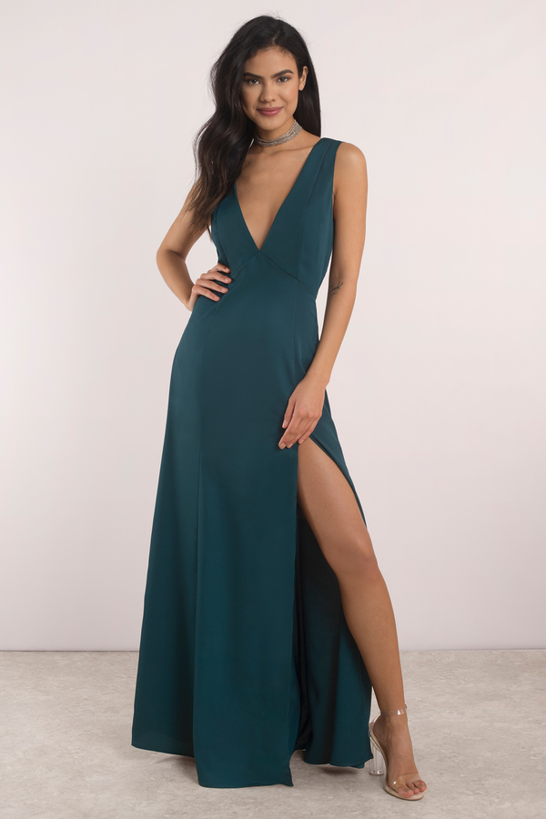 Cute Marsala Dress - Back Tie Dress - Front Slit Dress - AU$ 134 ...