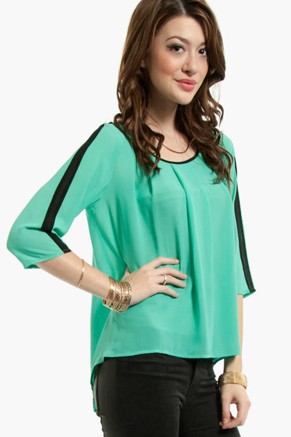 Out of Line Blouse