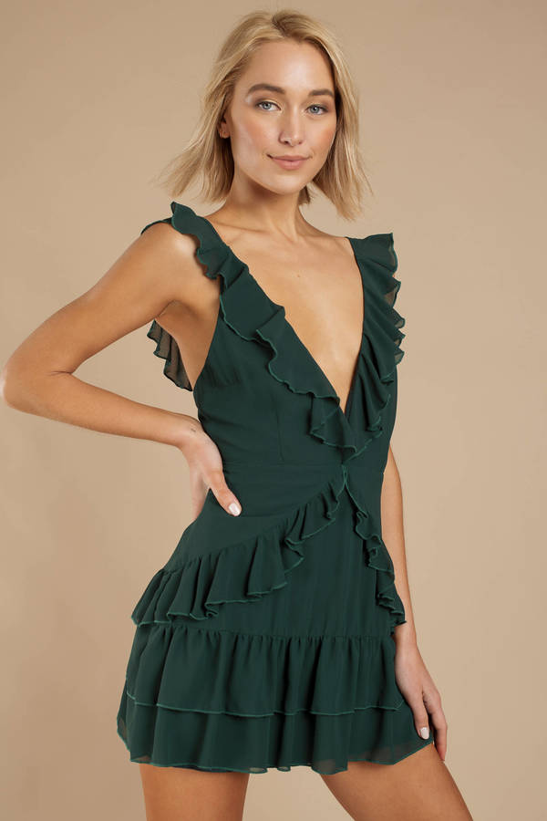 ea30afd288 Green Dresses