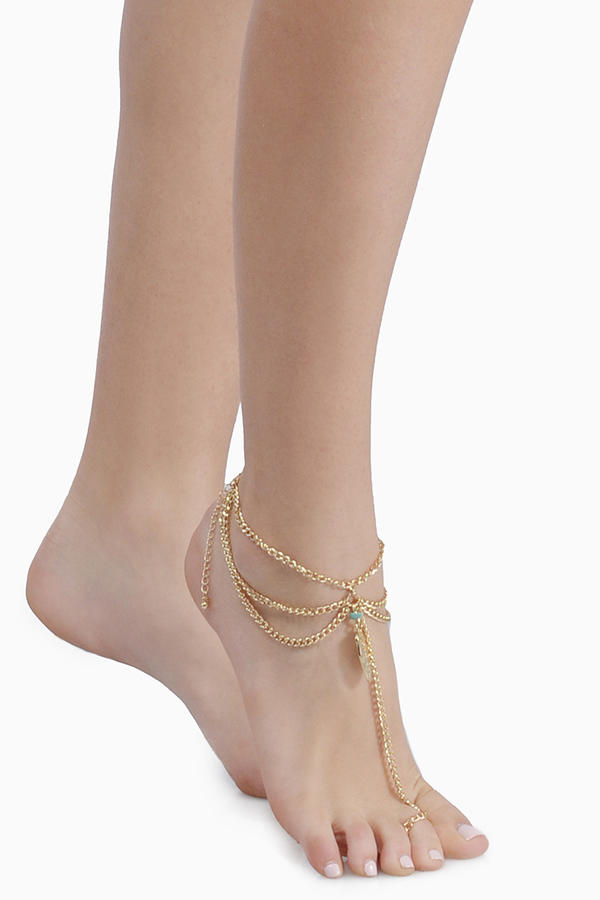 Featherweight Anklet