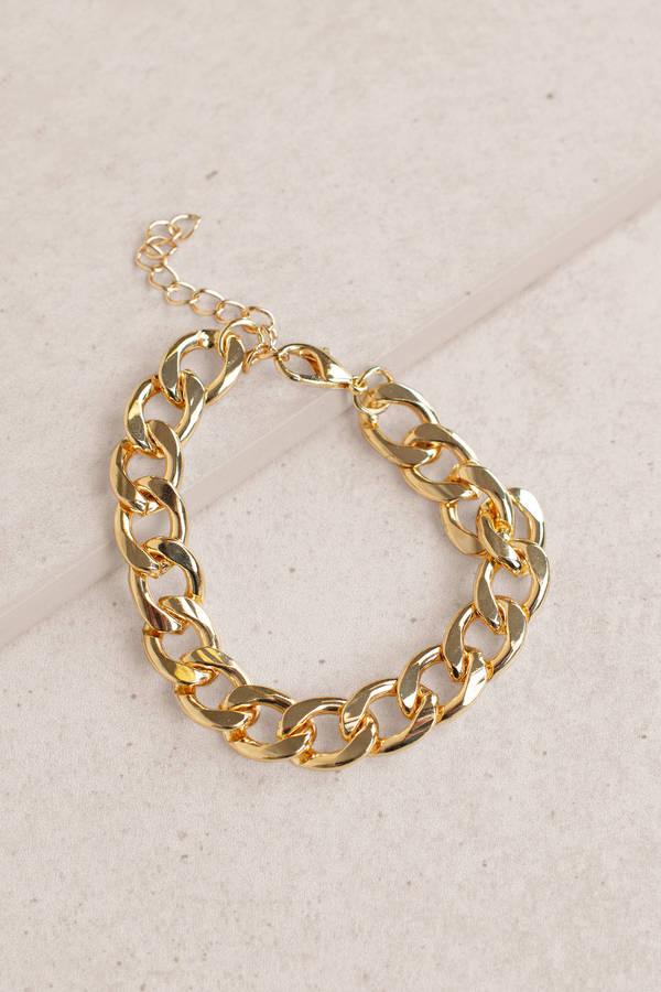 Bracelets Gold Melanie Chunky Chain Bracelet