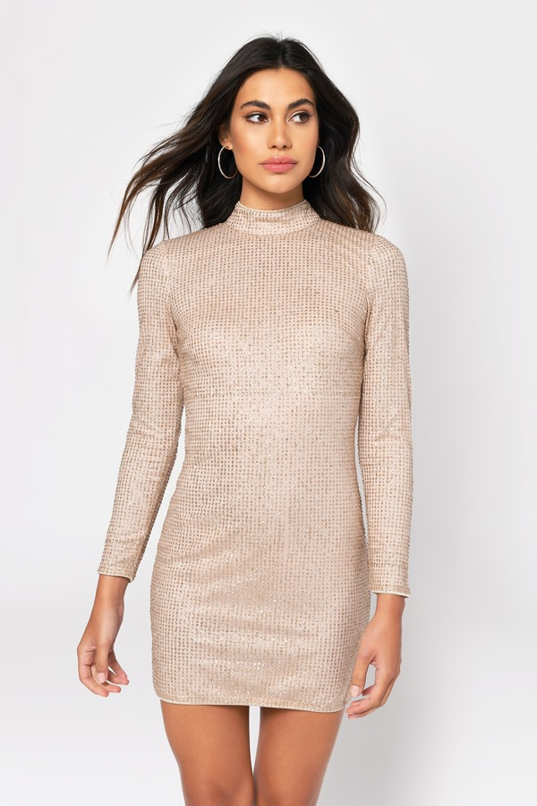 Scarlett Sequin Bodycon Dress