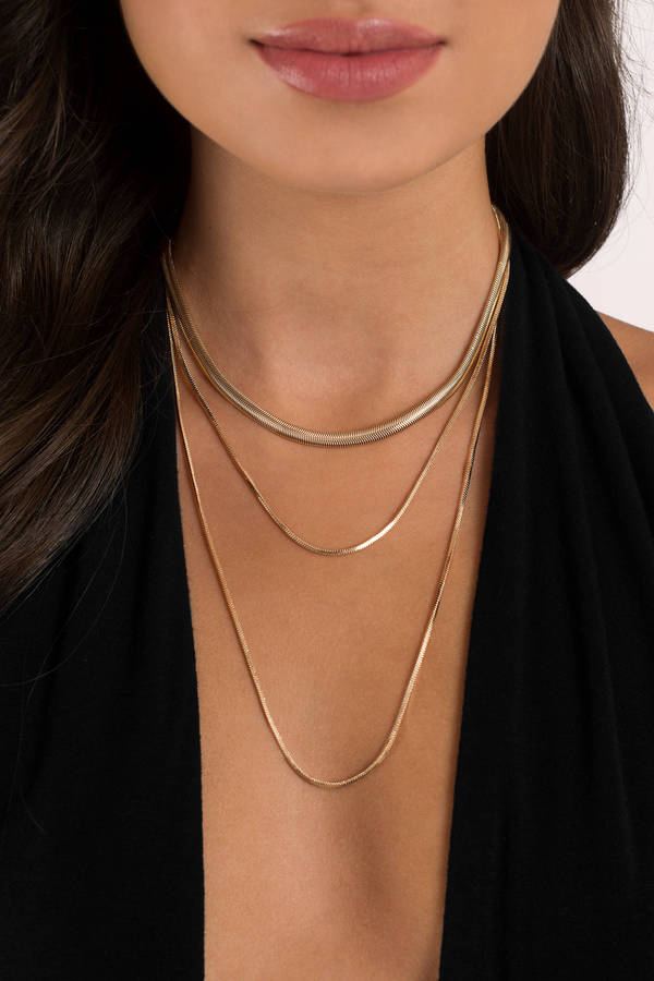 simple elegance silver layered necklace 9 tobi us
