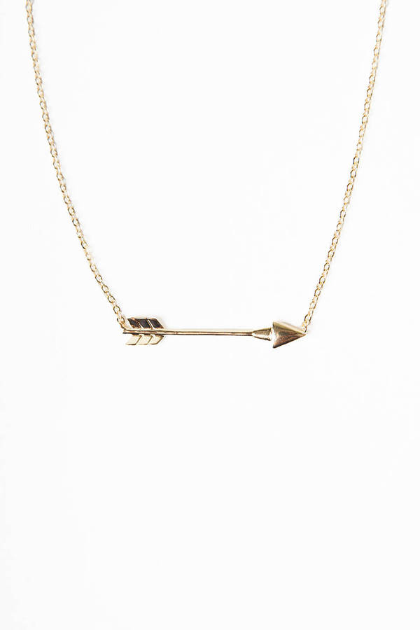 Straight Arrow Necklace