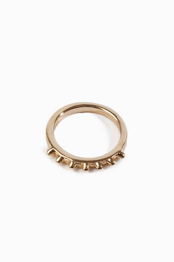 Thin Spike Ring