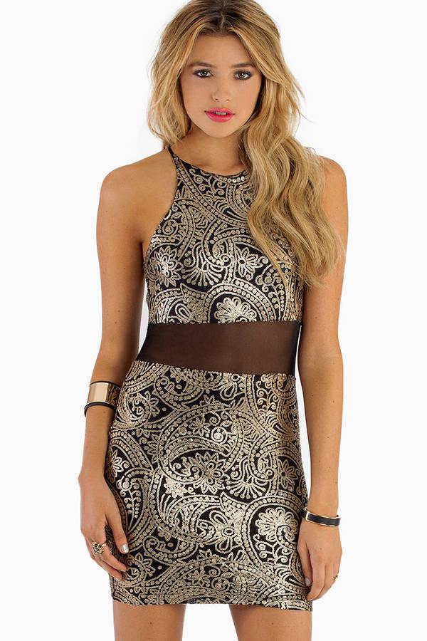 Web Of Intrigue Dress