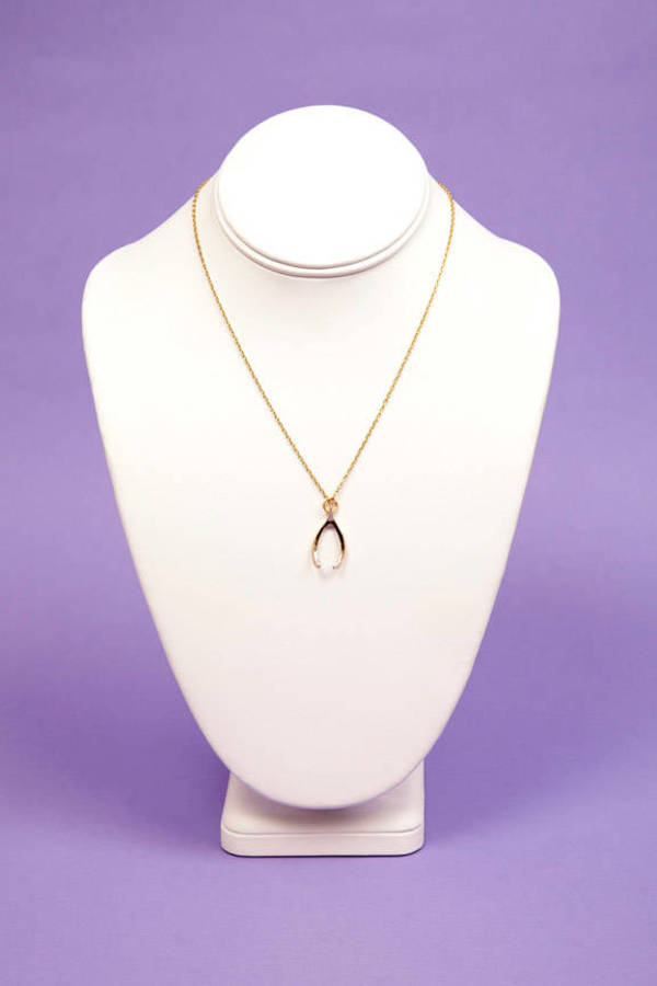 timi Wishbone Necklace