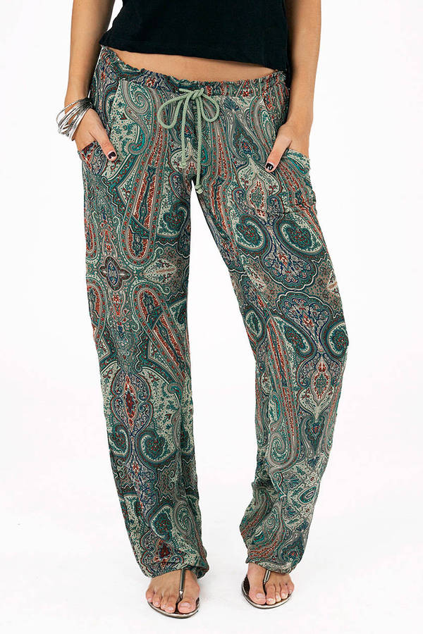 Live In Lounge Paisley Pants