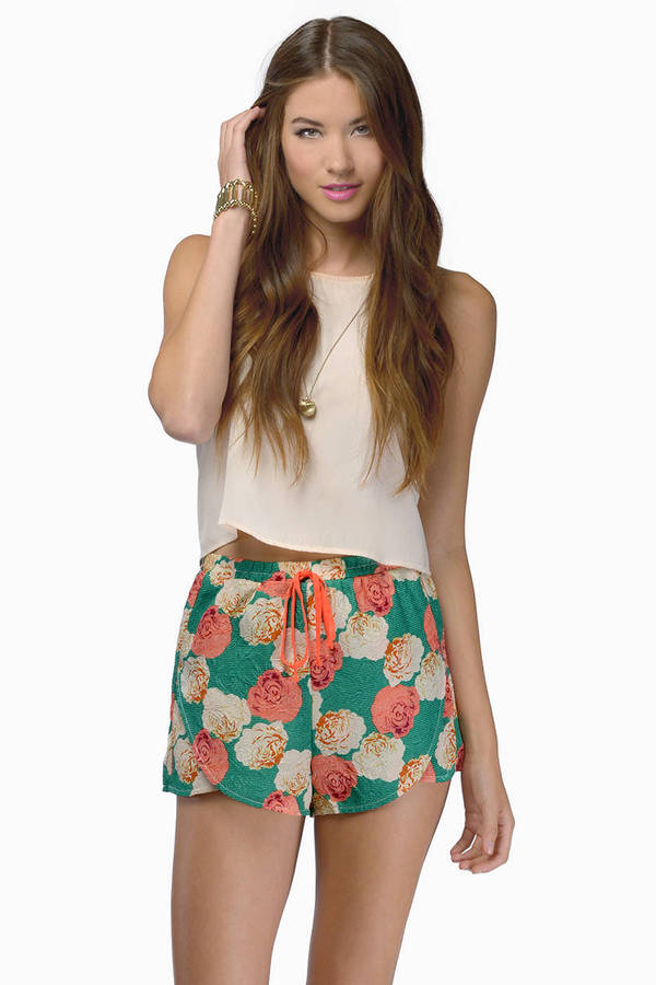 Jasmine Breeze Shorts