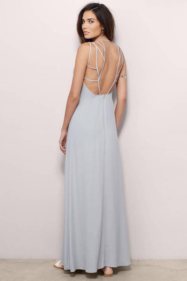 Backless Maxi Dress | Shop Backless Maxi Dress at Tobi