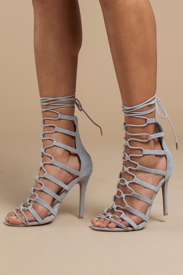 3930e147bb6 Lace Up Heels