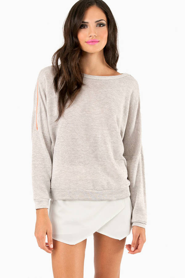 Zip Along Sweatshirt