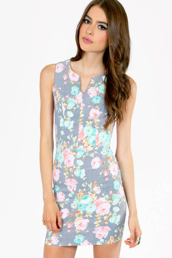Flor the Glory Bodycon Dress