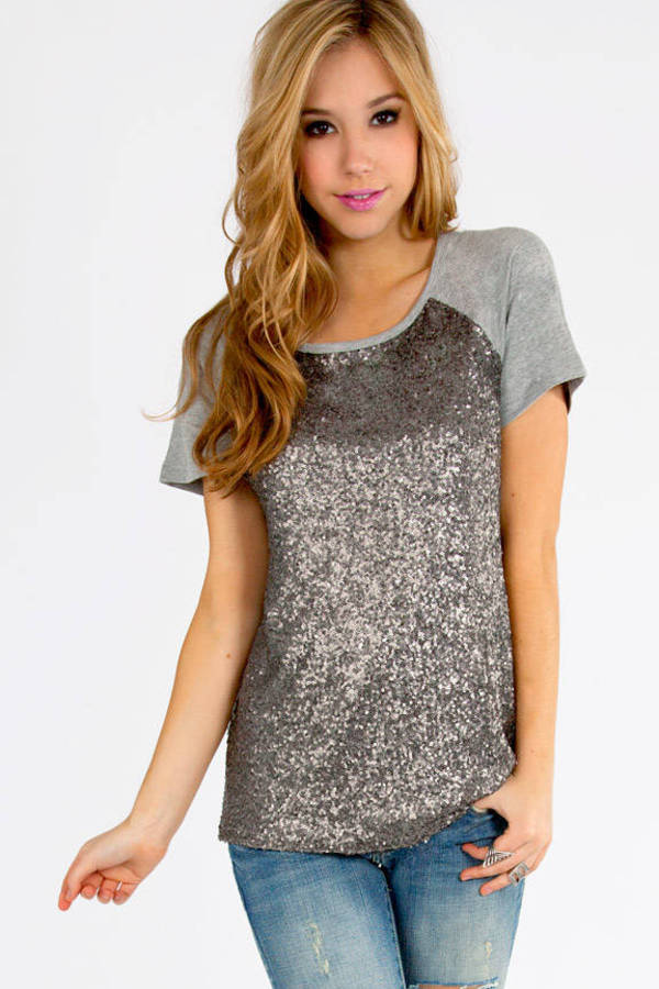 Madison Sequin Top