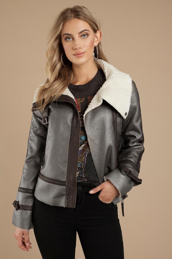Womens Sweater Coats Long Sweater Jackets Black Grey Tobi