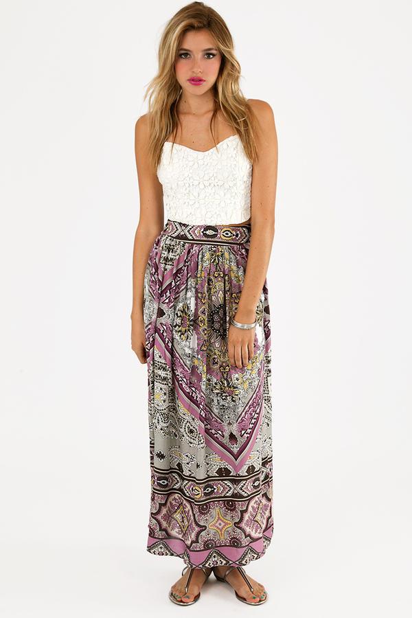 Dasia Maxi Skirt