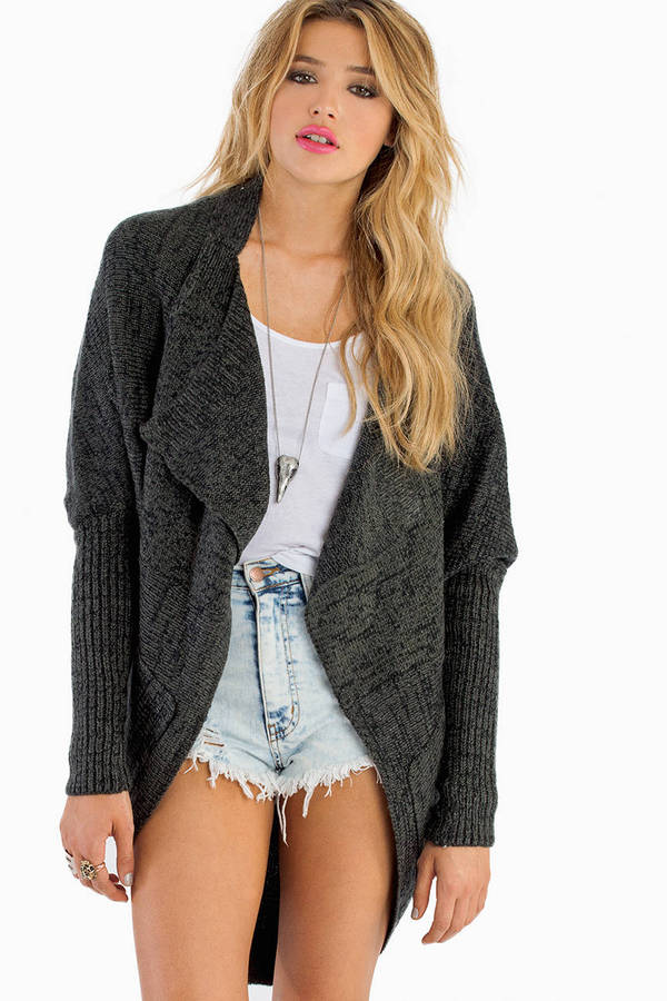 On Holiday Oversized Cardigan