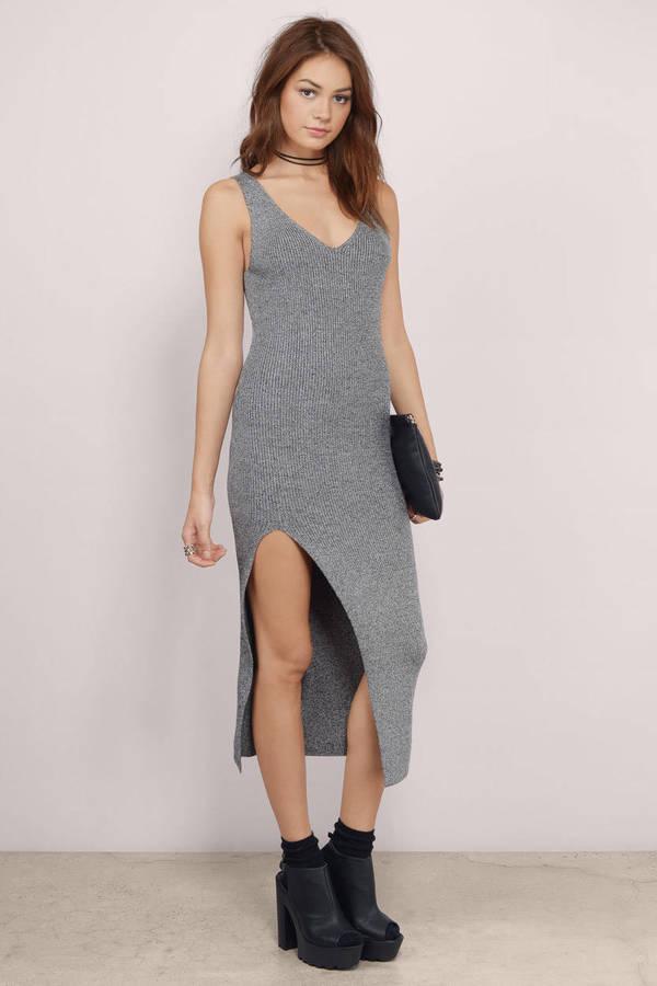 b405666642 Riley Ribbed Midi Dress