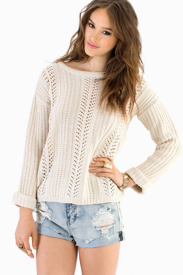 Alice Crochet Sweater
