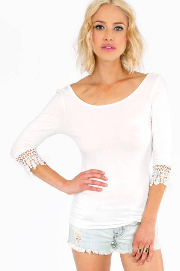 Crochet and Scoop Top