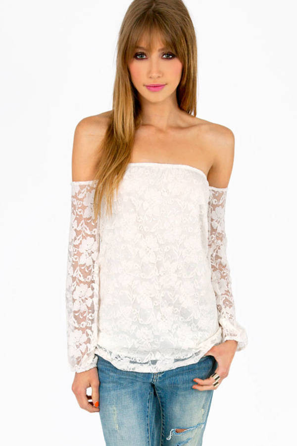 Dantelle Off Shoulder Top