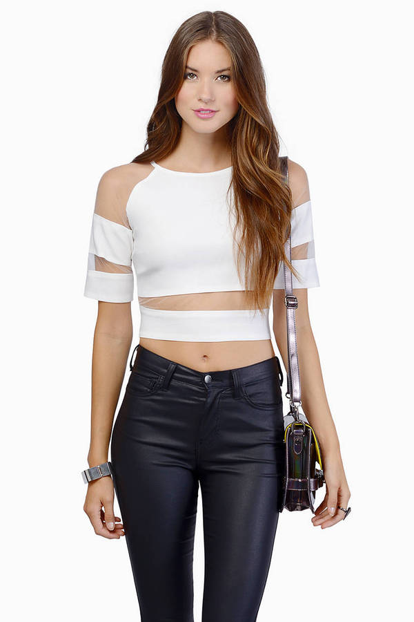 Dramatic Lines Top