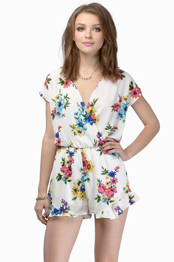 Love At First Bloom Romper