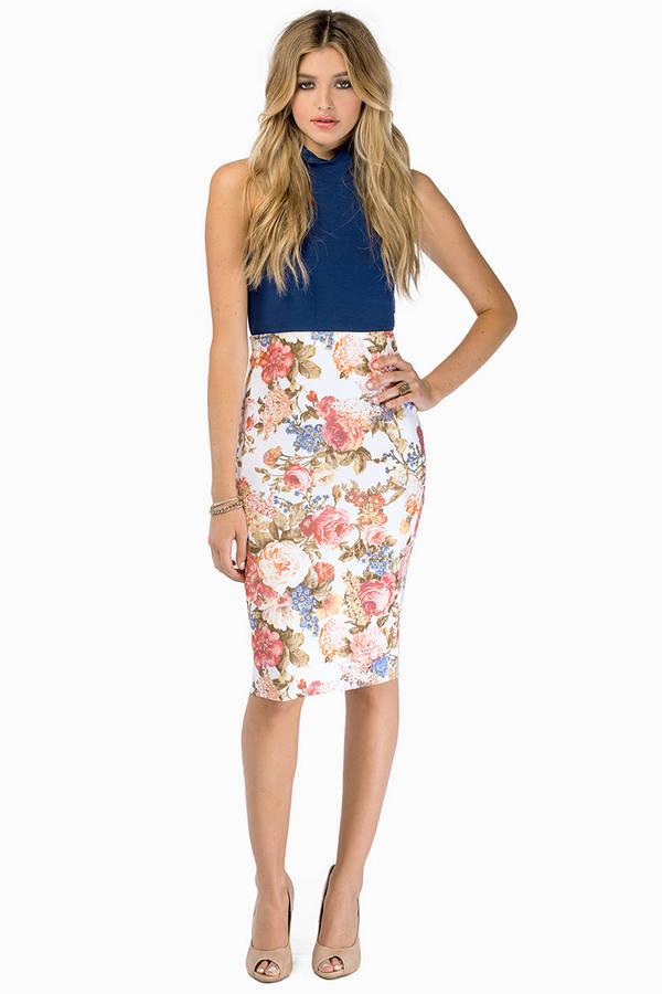 Vivid Motion Skirt