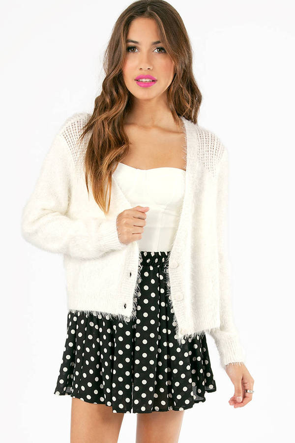 For Fuzzy Love Cardigan