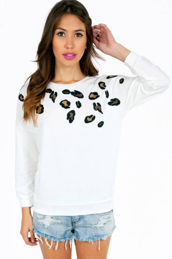 Friendly Feline Sweater
