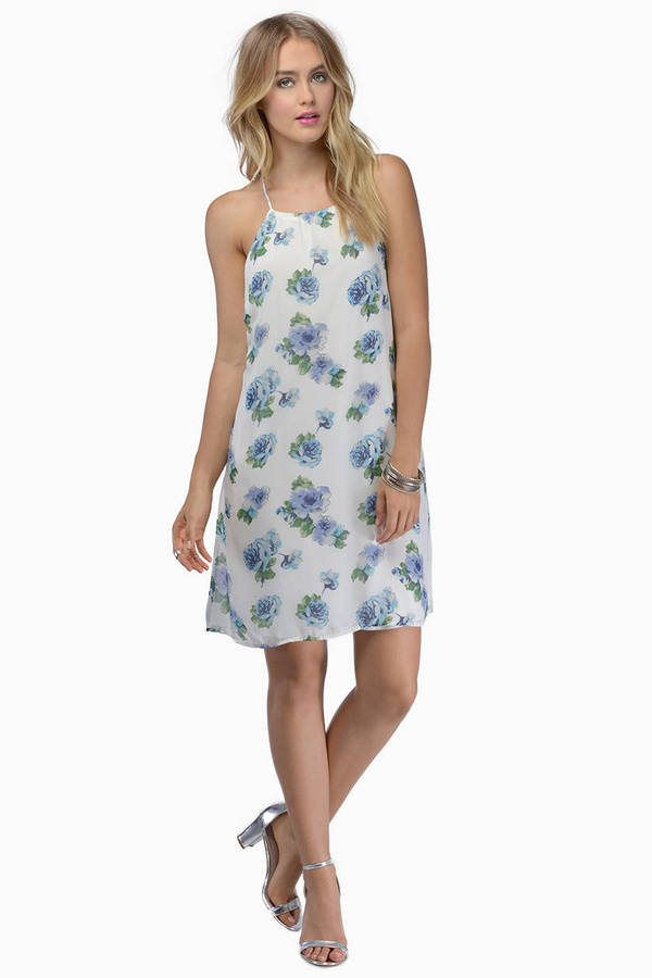 Into Bloom Shift Dress