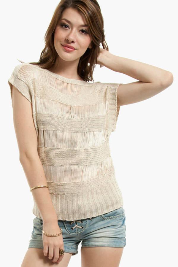 Sweet Rain Knit Me Up Sweater