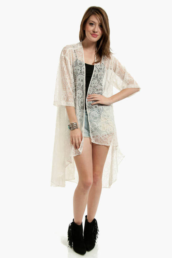Lightheaded Duster Cardigan