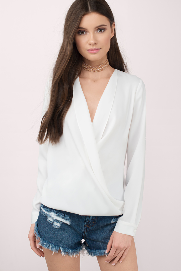 Blouses For Women | White Blouse, Sheer Blouse, Black Blouse | Tobi