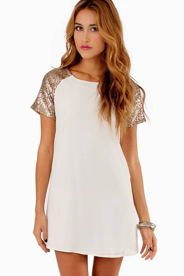 Embellish Me Shift Dress