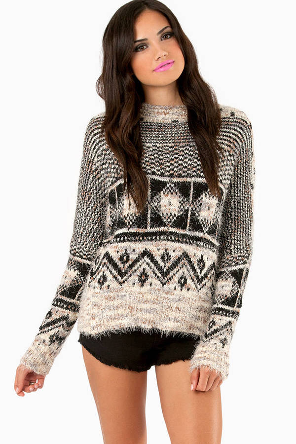 Geomatic Fuzzy Sweater